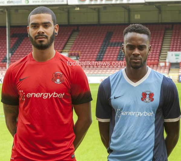 New Leyton Orient Kit 2016 17