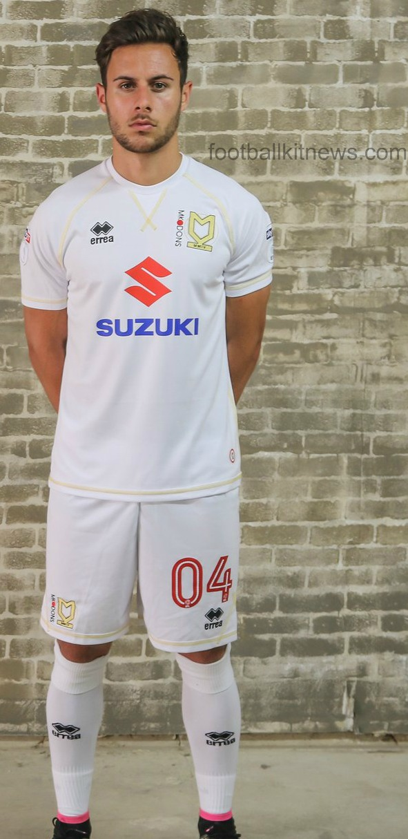 New MK Dons Home Kit 2016 17