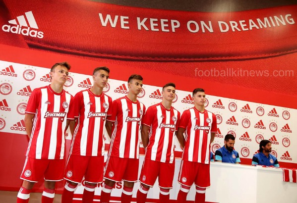New Olympiacos Jersey 2016 2017