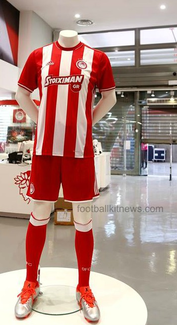 Olympiakos Home Shirt 16 17