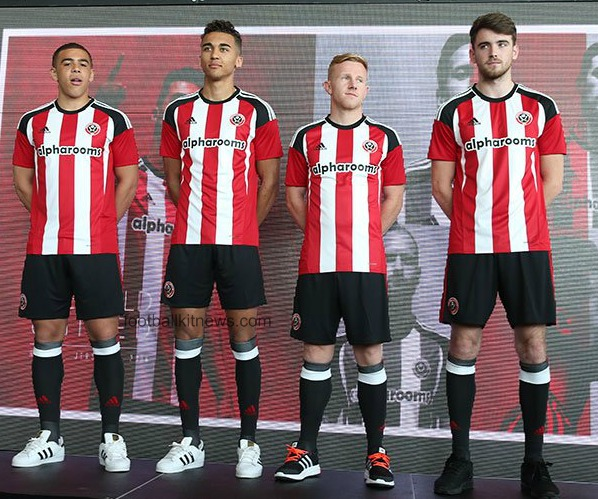 New Sheffield United Home Kit 16-17- Adidas SUFC Home ...