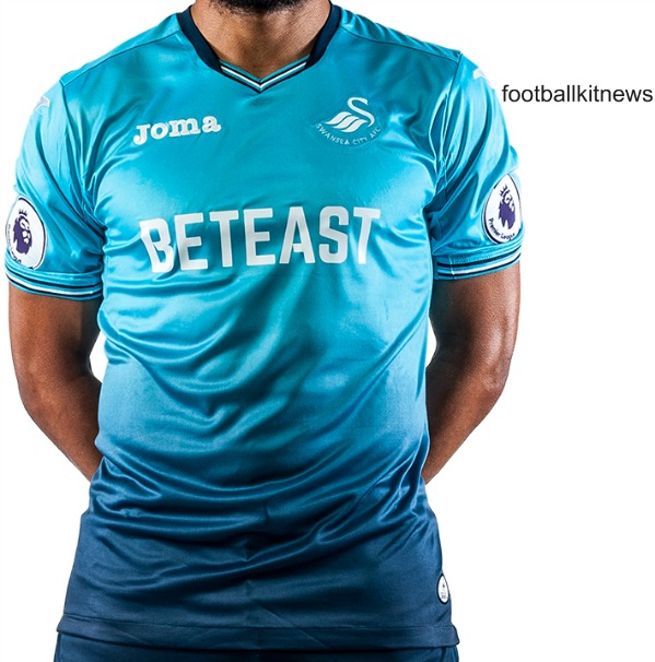 Swansea Blue Shirt 2016 2017