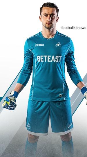 Swansea Goalkeeper Jersey 16 17
