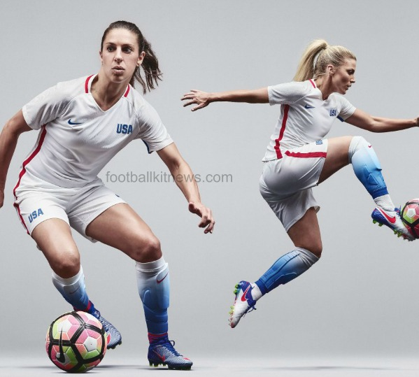 New USA Olympics Soccer Jersey 2016 | Nike USWNT Rio 2016 Kit