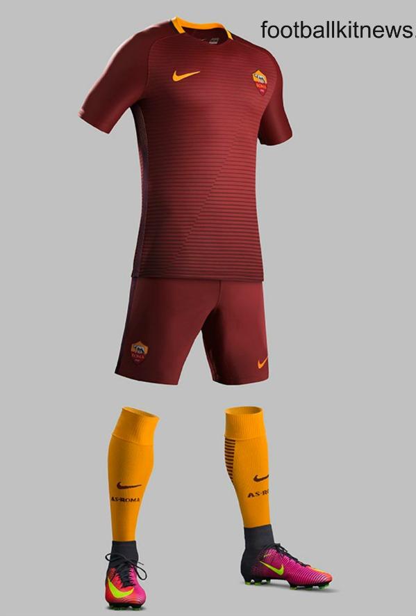 AS Roma Home Kit 2016 17