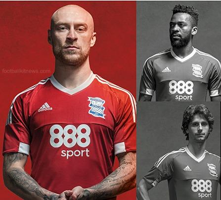 Birmingham City Away Shirt 2016 2017