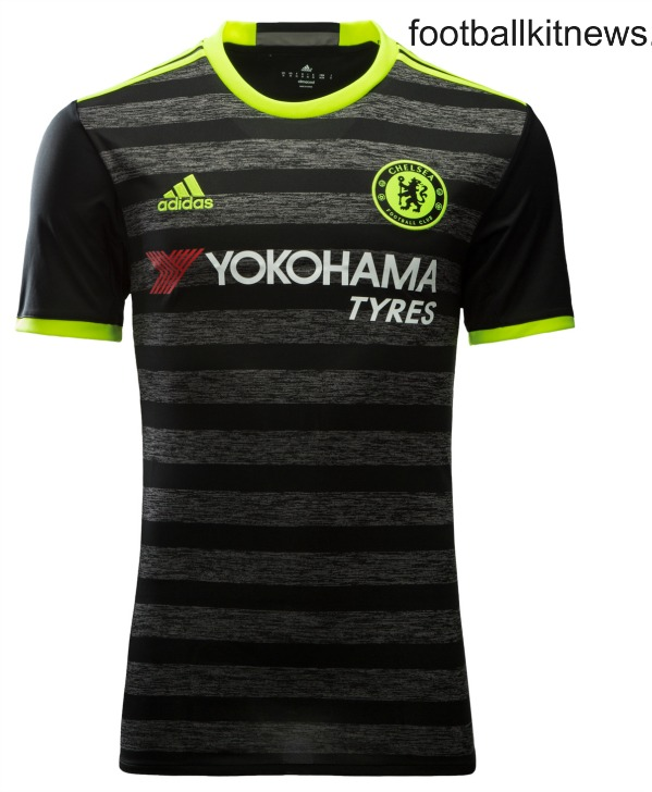 Black Chelsea Away Kit 2016 2017