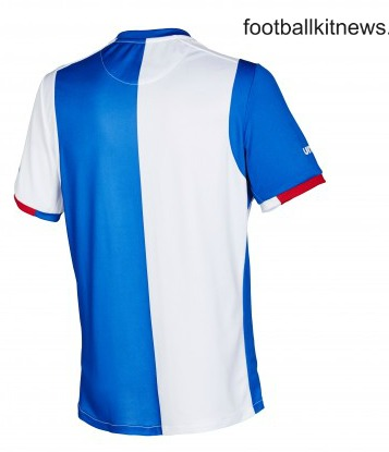 Blackburn Rovers Home Shirt Back