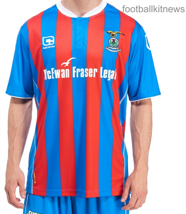 New Inverness Caledonian Thistle Strips 2016/17 | Carbrini ICTFC Home & Away Kits 16-17