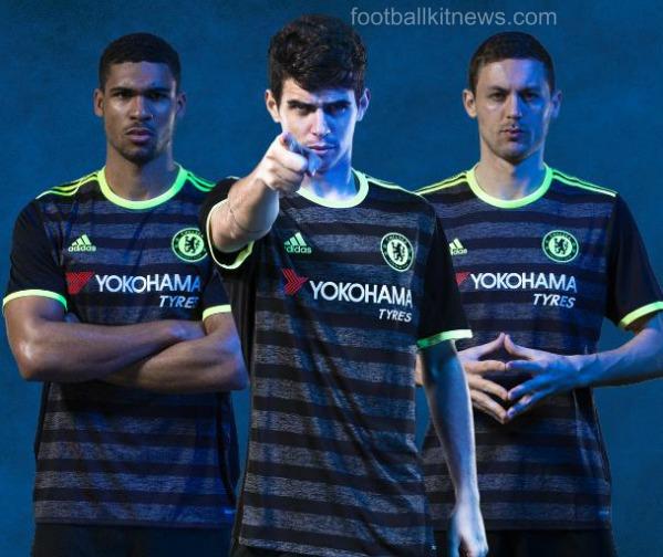 Chelsea Away Kit 16 17