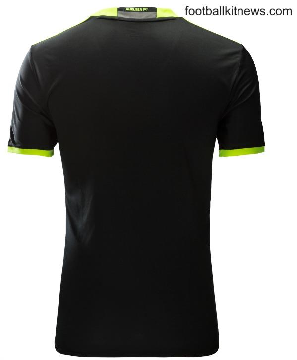 New Chelsea Away Kit 2016 17 Black Cfc Alternate Jersey