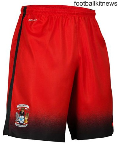 Coventry City Away Shorts 16 17