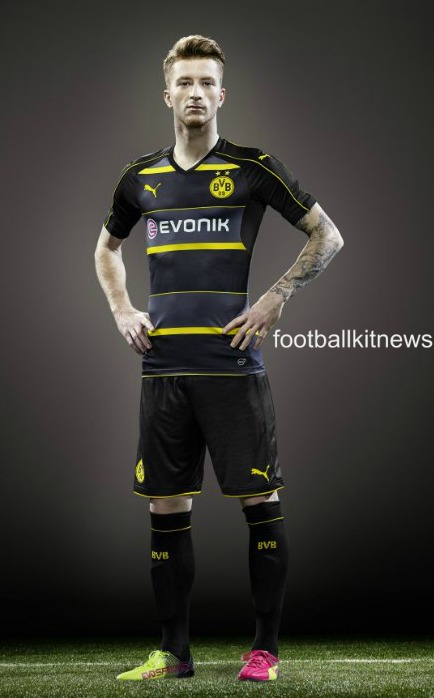 Dortmund Away Shirt 2016 17