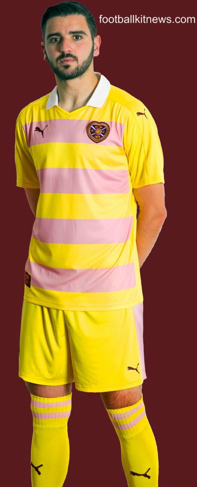 Hearts Away Strip 2016 17