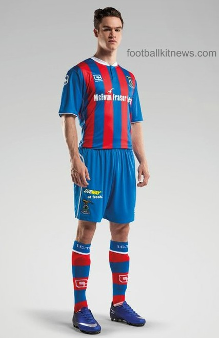 Inverness Caledonian Thistle Home Strip 2016 17