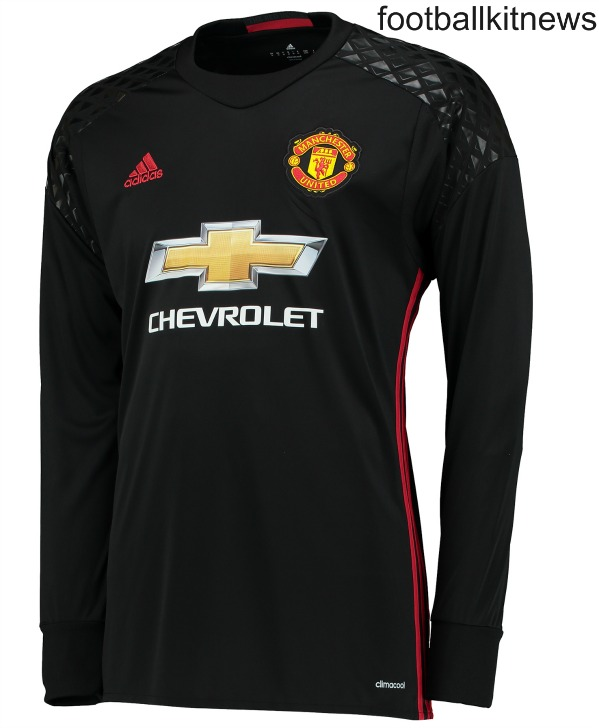 Man Utd Goalkeeper Shirt 2016 2017