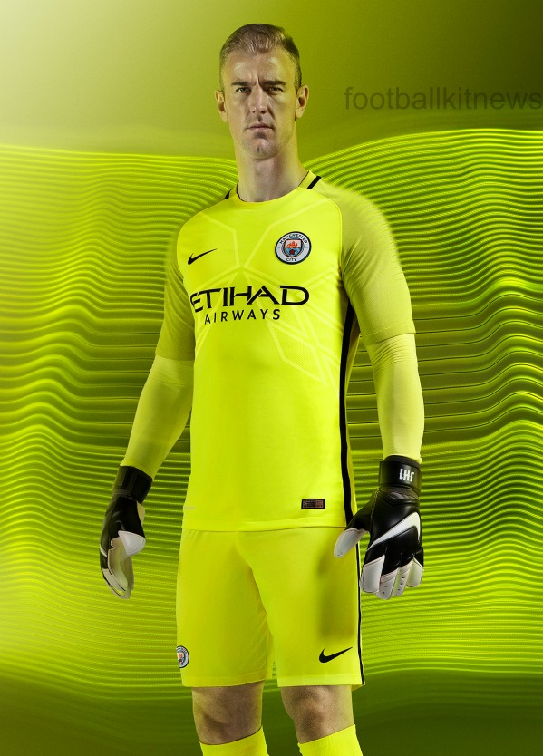 Manchester City Goalkeeper Shirt 2016 2017