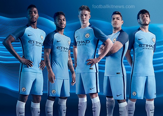 Manchester City Home Kit 16 17
