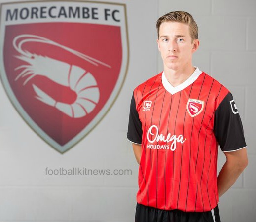 Morecambe Home Shirt 16 17