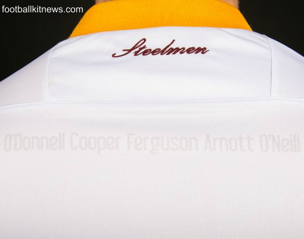 Motherwell Third Shirt 16 17 Names