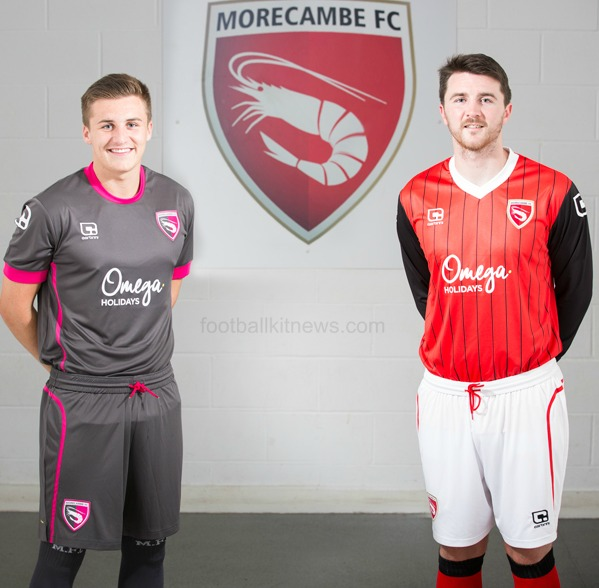New Morecambe Kit 2016 17