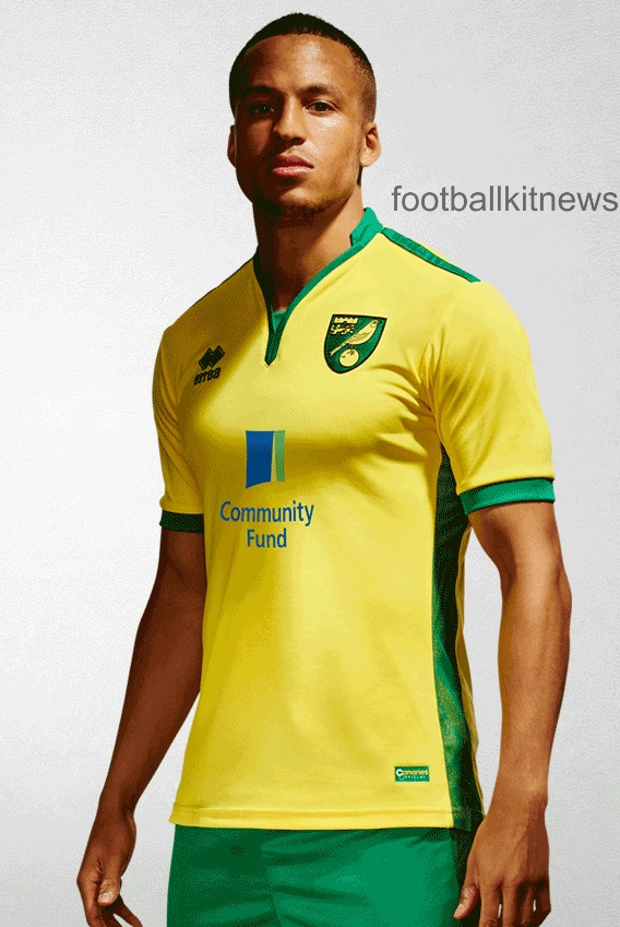 Norwich City Home Kit 16 17