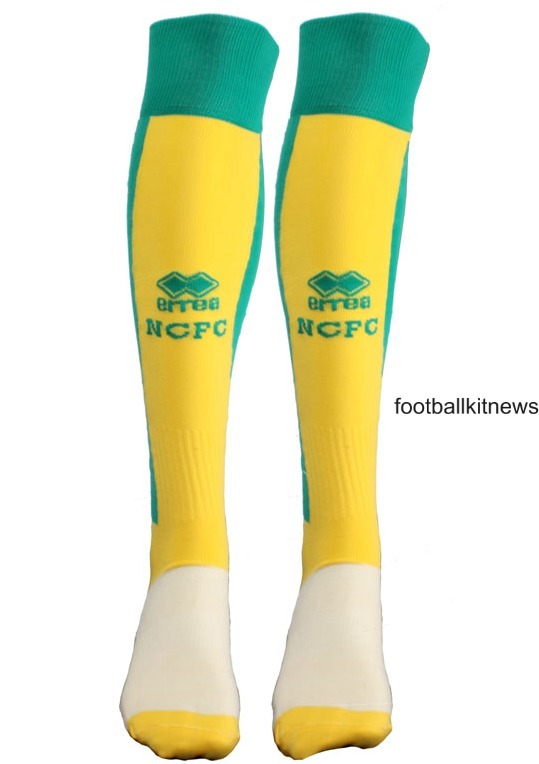 Norwich City Home Socks 2016 2017