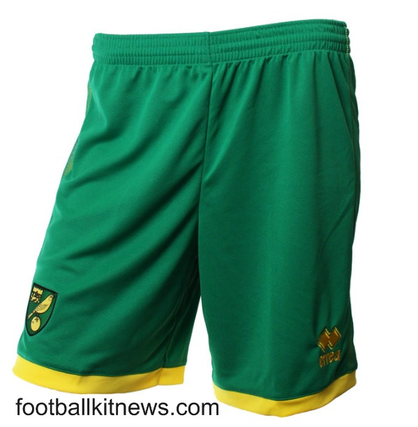 Norwich Home Shorts 2016 17