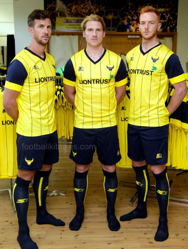 Oxford United Kit 2016 2017