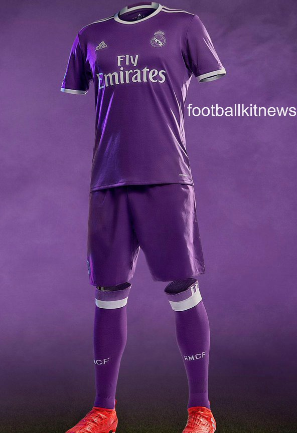 Real Madrid Away Kit 2016 17