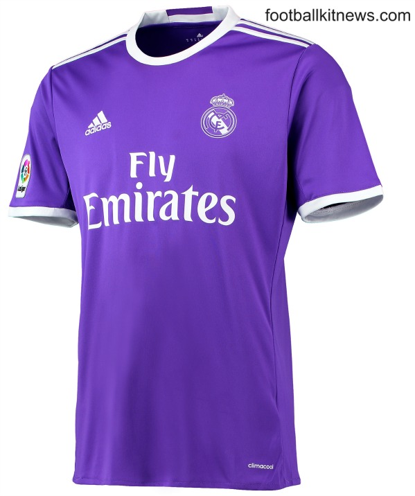 reputable site 98af0 66541 New Real Madrid Kits 2016/17 | Adidas unveil home & away ...