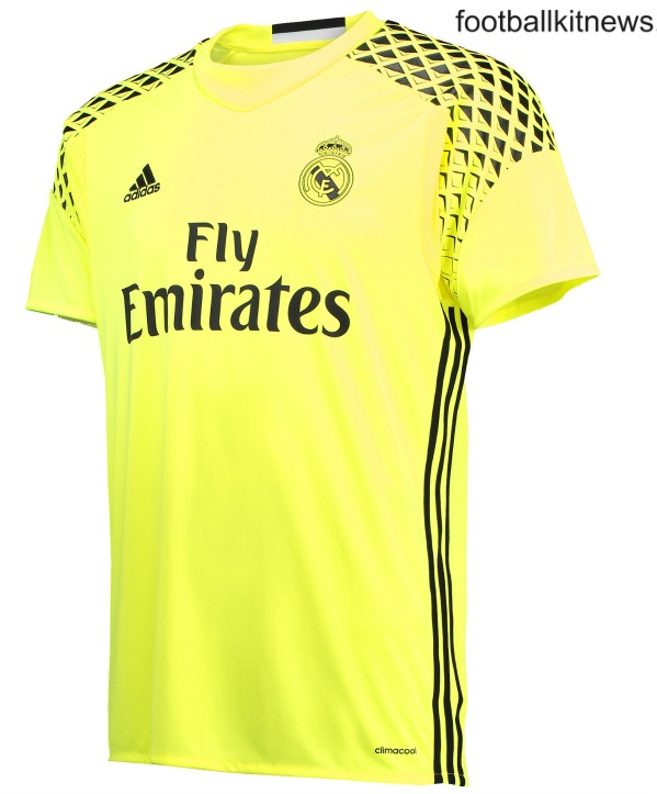 Real Madrid Goalkeeper Away Jersey 16 17