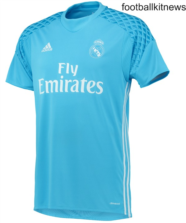 Real Madrid Goalkeeper Home Jersey 16 17