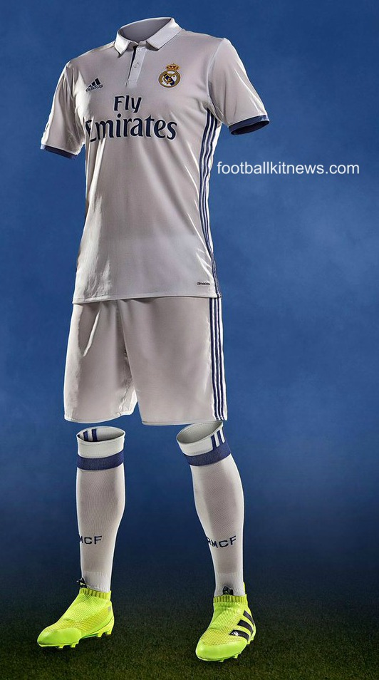 Real Madrid Home Kit 16 17