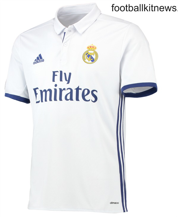 Real Madrid Home Shirt 2016 2017