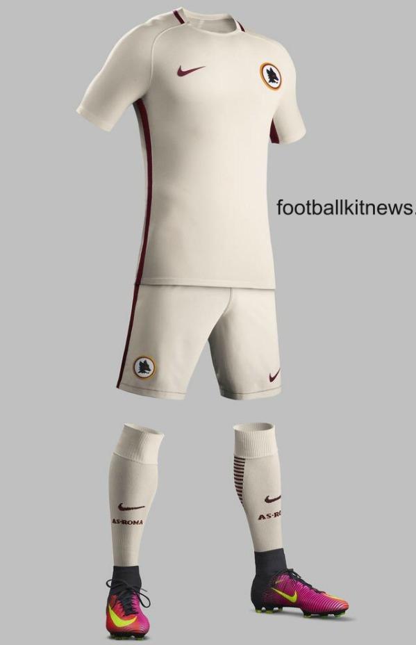 Roma Away Top 2016 2017