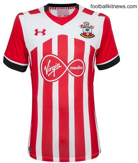 Southampton Home Shirt 16 17