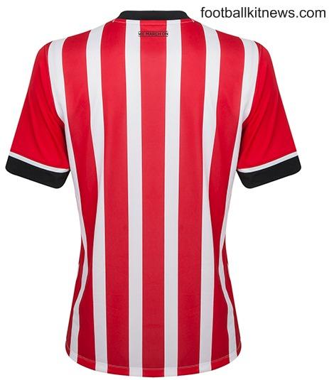 Southampton Home Shirt Has Stripes on Back