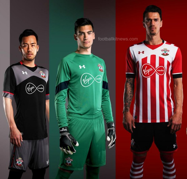 Southampton Under Armour Jersey 2016 2017