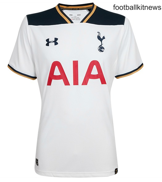 New Tottenham Hotspur Kits 2016/17 | Spurs Under Armour Jerseys 16/17