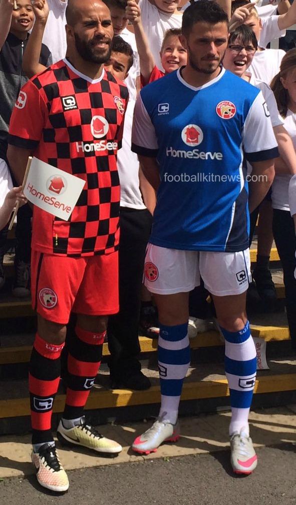 Walsall FC Shirt 16 17