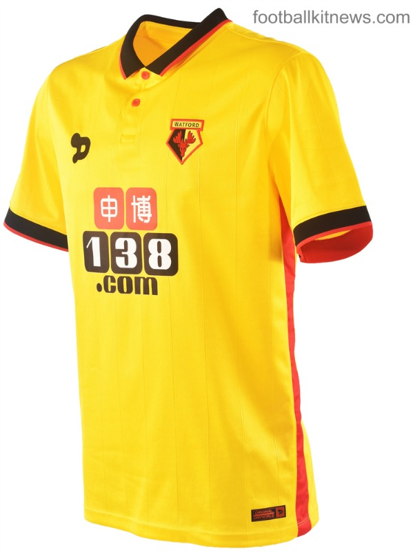 Watford FC Home Shirt 16 17