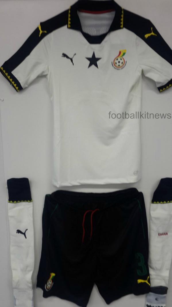 Black Stars Soccer Jersey 2016 17