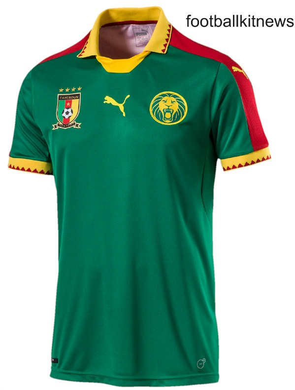 Cameroon AFCON 2017 Shirt