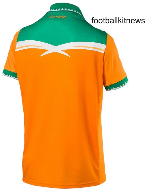 Cote d'Ivoire Football Shirt 2016 2017