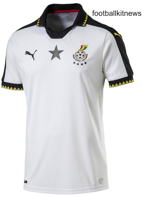 New Black Stars AFCON Jersey 2017 | Puma Ghana Football Shirt 2016-17