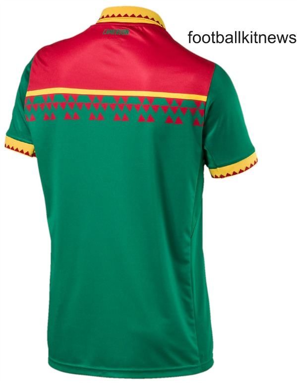 Indomitable Lions Cameroun Maillot 2017