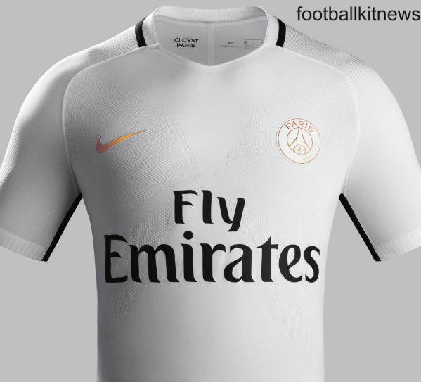 psg new white jersey