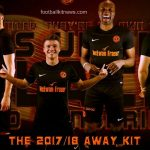 New Dundee United Away Strip 17/18- DUFC Black Alternate Top 2017/18