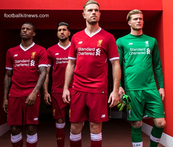 Liverpool New Kit 2017 2018